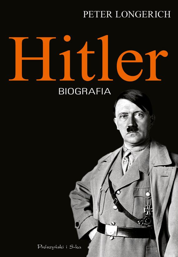 okładka Hitlerebook | epub, mobi | Peter Longerich
