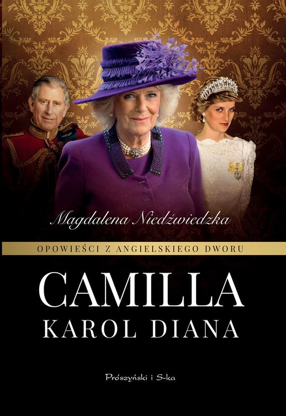 okładka Opowieści z angielskiego dworu. Camillaebook | epub, mobi | Magdalena Niedźwiedzka