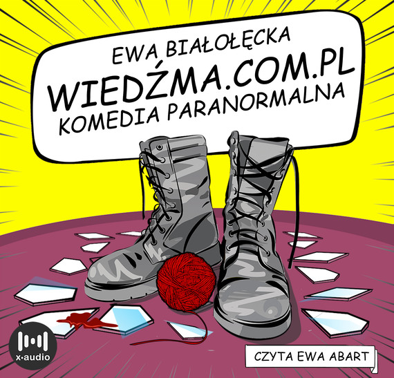 okładka Wiedźma.com.plaudiobook   MP3   Ewa Białołęcka