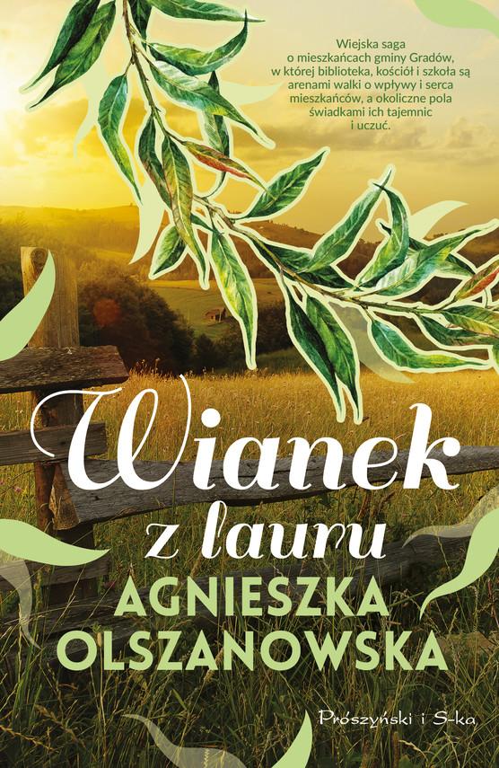 okładka Wianek z lauruebook | epub, mobi | Agnieszka Olszanowska