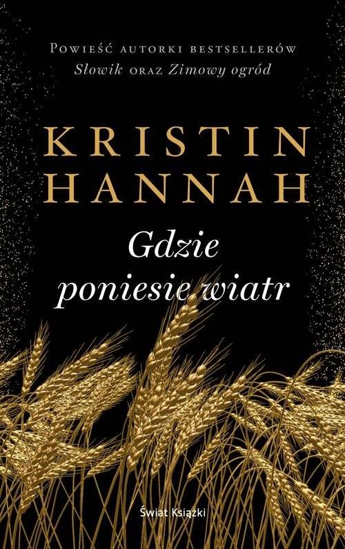 okładka Gdzie poniesie wiatrksiążka |  | Hannah Kristin