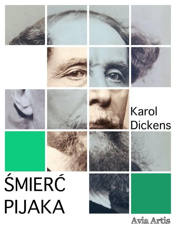 okładka Śmierć pijakaebook   epub, mobi   Karol  Dickens