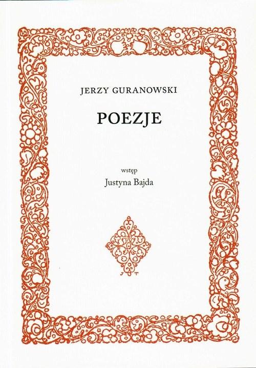 okładka Poezjeksiążka      Guranowski Jerzy