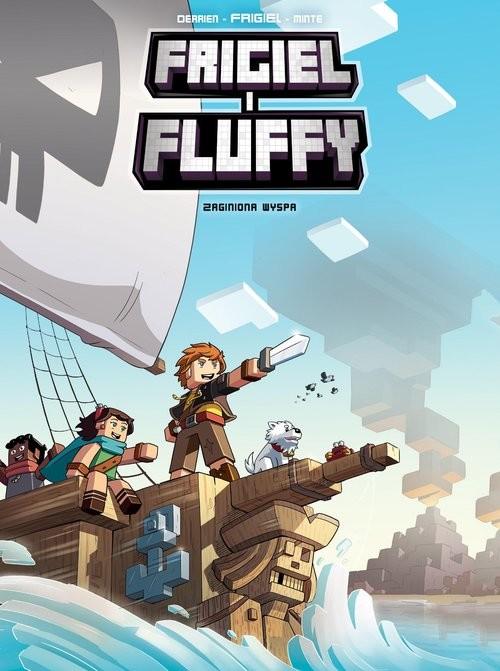 okładka Zaginiona wyspa Frigiel i Fluffy Tom 5książka |  | Frigiel Frigiel, Jean-Christophe Derrien