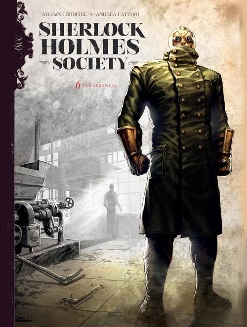 okładka Sherlock Holmes Society Pole manewru Tom 6książka     