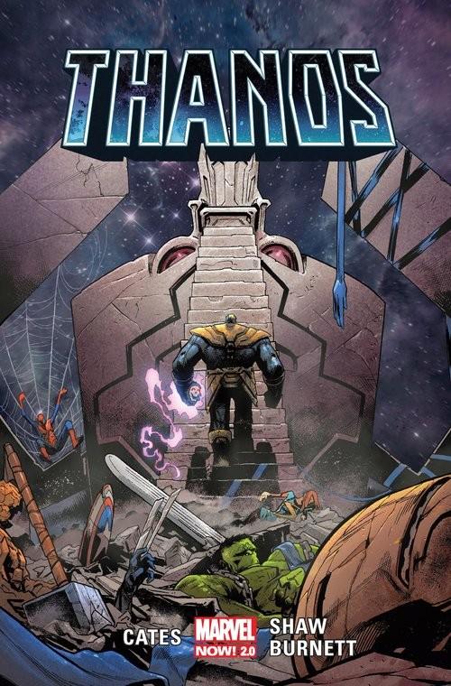 okładka Thanos Tom 2książka     