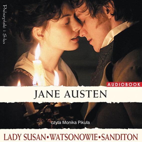 okładka Lady Susan. Watsonowie. Sanditon.audiobook | MP3 | Jane Austen