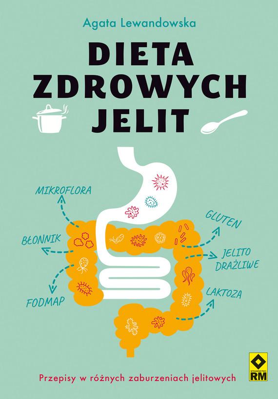 okładka Dieta zdrowych jelitebook   pdf   Agata Lewandowska
