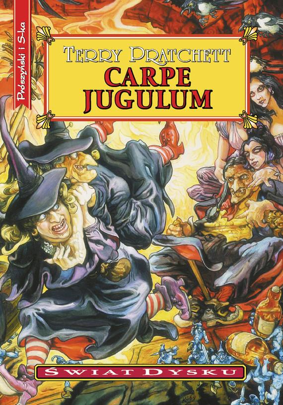 okładka Carpe Jugulumebook   epub, mobi   Terry Pratchett