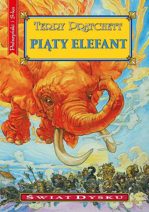 okładka Piąty elefantebook | epub, mobi | Terry Pratchett