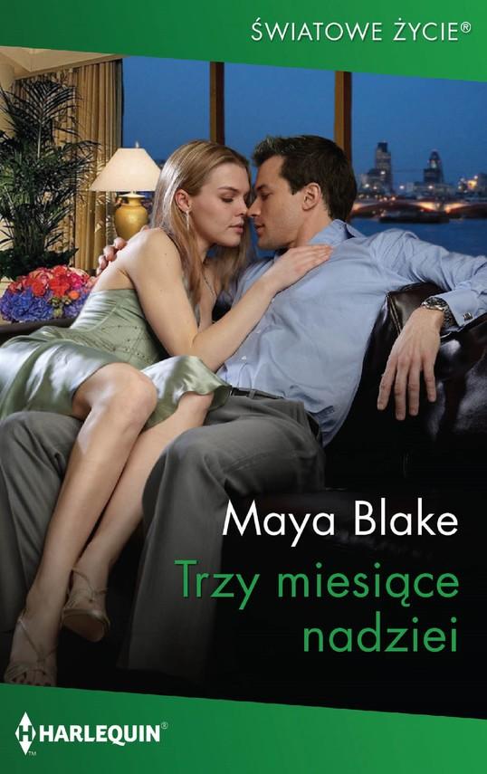 okładka Trzy miesiące nadzieiebook | epub, mobi | Maya Blake