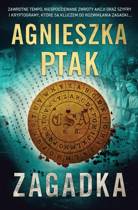 okładka Zagadkaebook | epub, mobi | Ptak Agnieszka