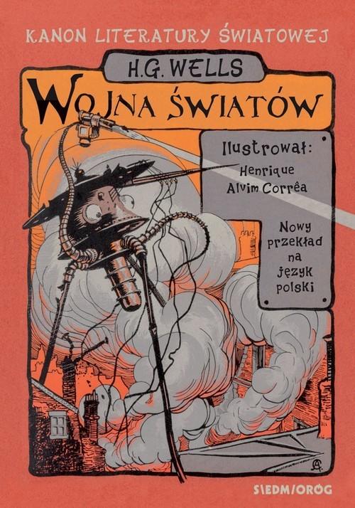 okładka Wojna światówksiążka      H.G. Wells