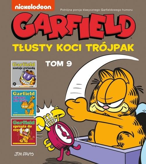 okładka Garfield Tłusty koci trójpak Tom 9książka |  |