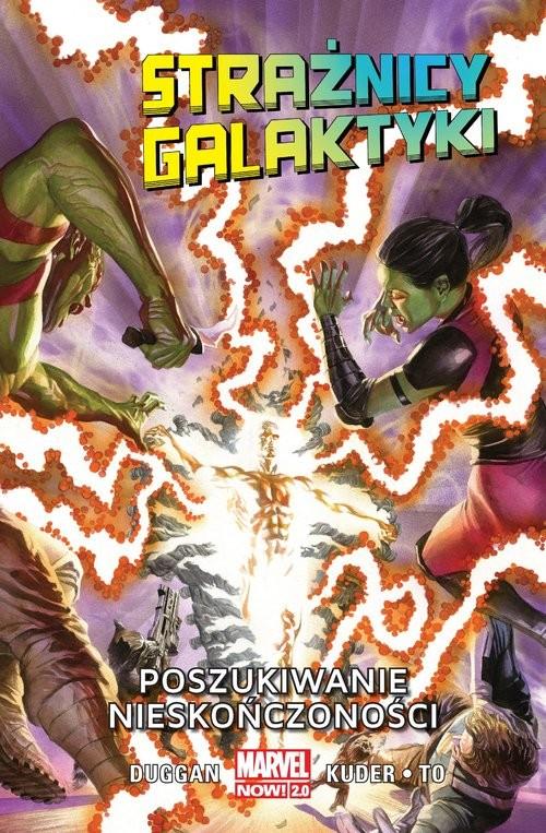 okładka Strażnicy Galaktyki - Poszukiwanie nieskończoności Tom 3książka |  |