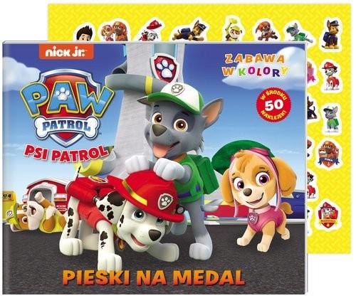 okładka Psi Patrol Zabawa w kolory Pieski na medalksiążka |  | Opracowanie zbiorowe