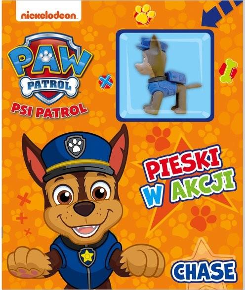 okładka Psi Patrol Pieski w Akcji Chaseksiążka |  | Opracowanie zbiorowe