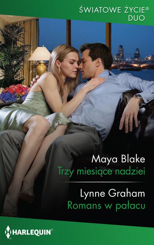 okładka Trzy miesiące nadzieiksiążka |  | Maya Blake, Lynne Graham