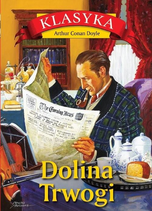 okładka Dolina Trwogiksiążka      Arthur Conan Doyle