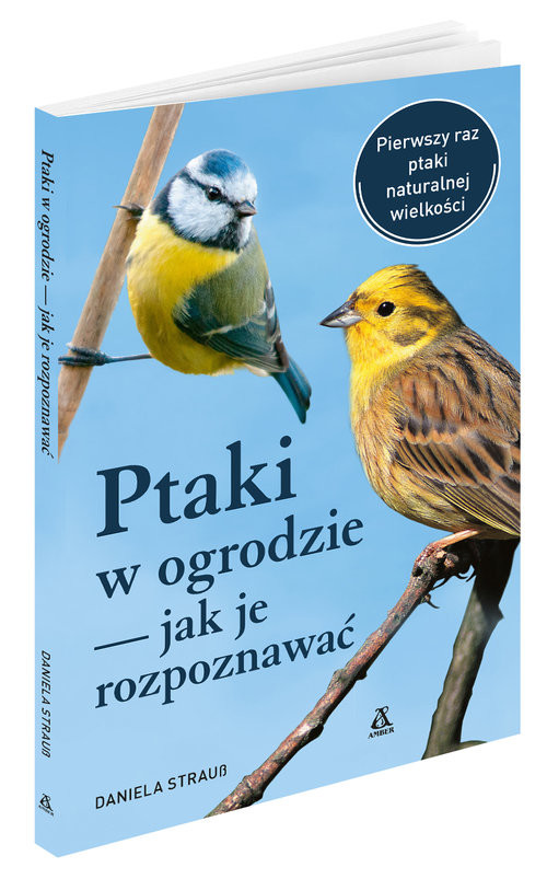 okładka Ptaki w ogrodzie Jak je rozpoznawaćksiążka      Daniela Strauss
