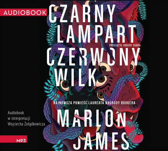 okładka Czarny Lampart, Czerwony Wilkaudiobook | MP3 | Marlon James