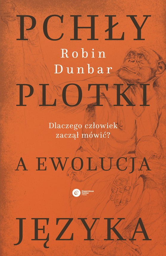 okładka Pchły, plotki a ewolucja językaebook | epub, mobi | Robin Dunbar