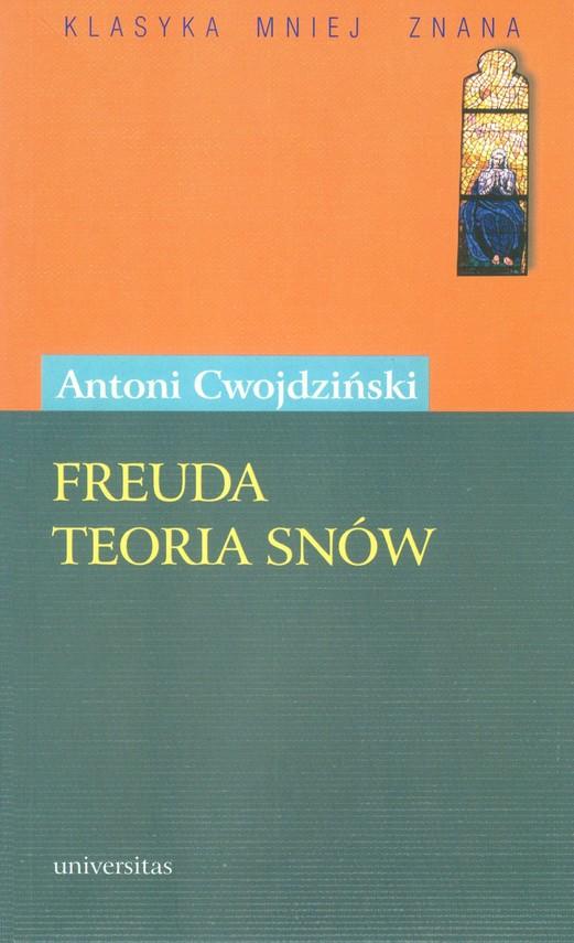 okładka Freuda teoria snów. Komedia w 3 aktachebook   pdf   Antoni  Cwojdziński
