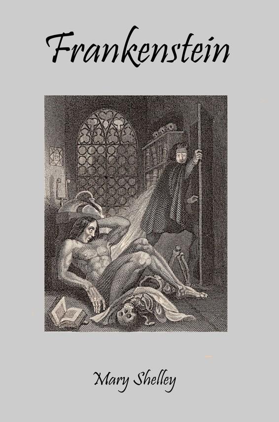 okładka Frankensteinebook   pdf   Mary Shelley