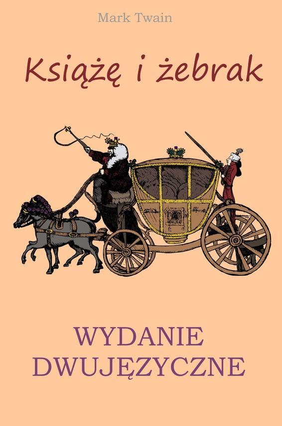 okładka Książę i żebrak. Wydanie dwujęzyczne z gratisamiebook   pdf   Lewis Carroll