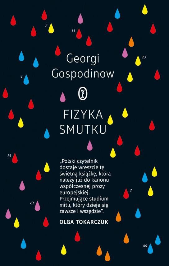 okładka Fizyka smutkuebook   epub, mobi   Georgi Gospodinow