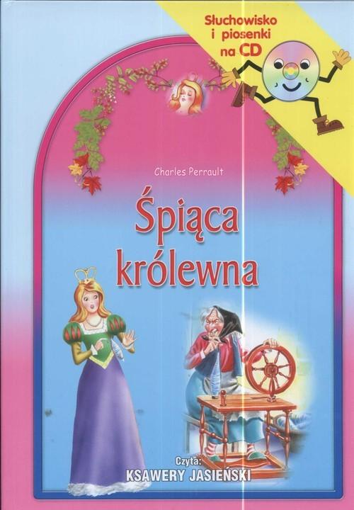 okładka Śpiąca królewna Słuchowisko i piosenki na CDksiążka |  | Charles Perrault