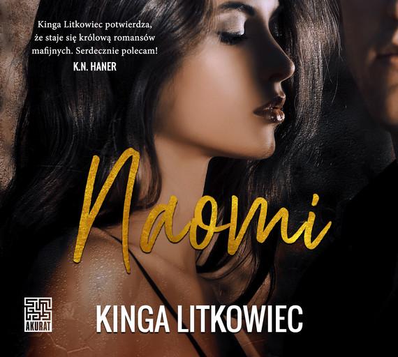 okładka Naomiaudiobook   MP3   Kinga  Litkowiec