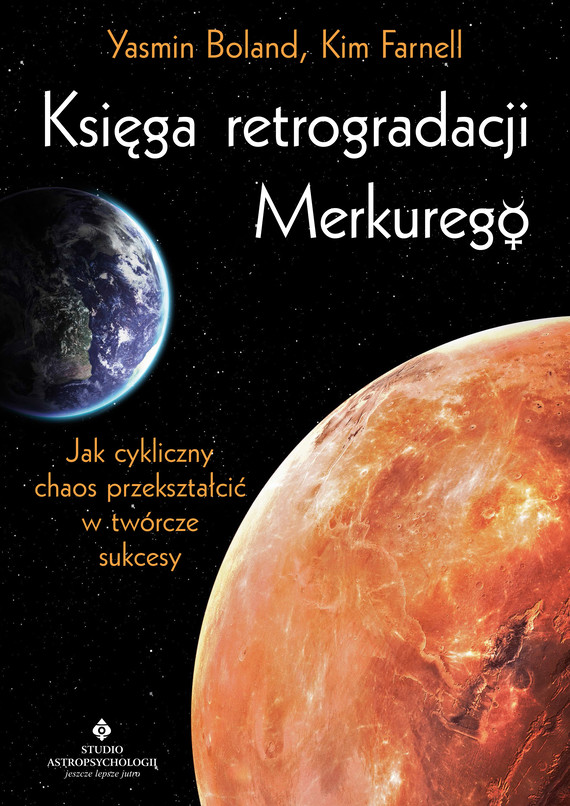 okładka Księga retrogradacji Merkurego. Jak cykliczny chaos przekształcić w twórcze sukcesyebook | epub, mobi | Boland Yasmin