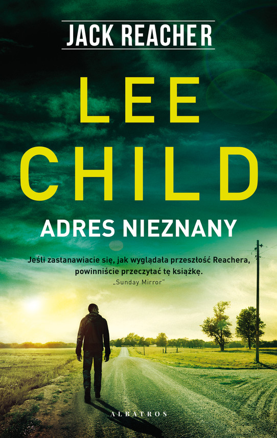 okładka ADRES NIEZNANYebook | epub, mobi | Lee Child