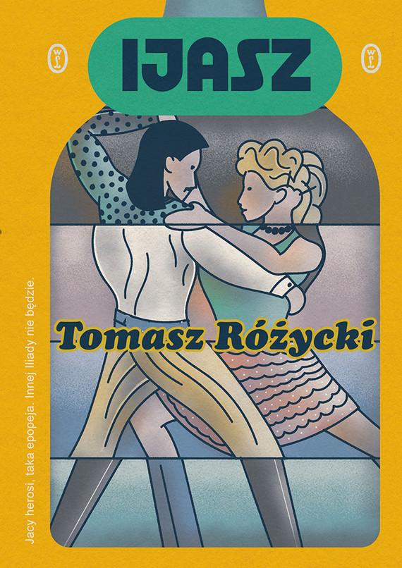 okładka Ijaszebook | epub, mobi | Tomasz  Różycki