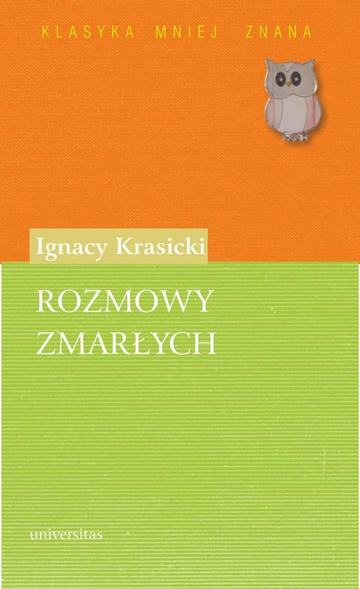 okładka Rozmowy zmarłychebook | pdf | Ignacy Krasicki