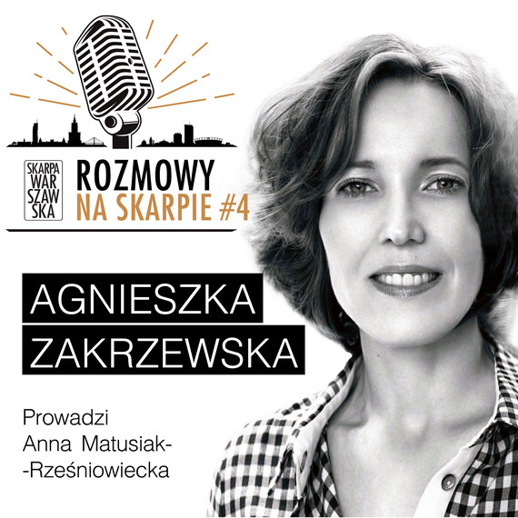 okładka Podcast: ROZMOWY NA SKARPIE #4audiobook   MP3   Anna Matusiak-Rześniowiecka