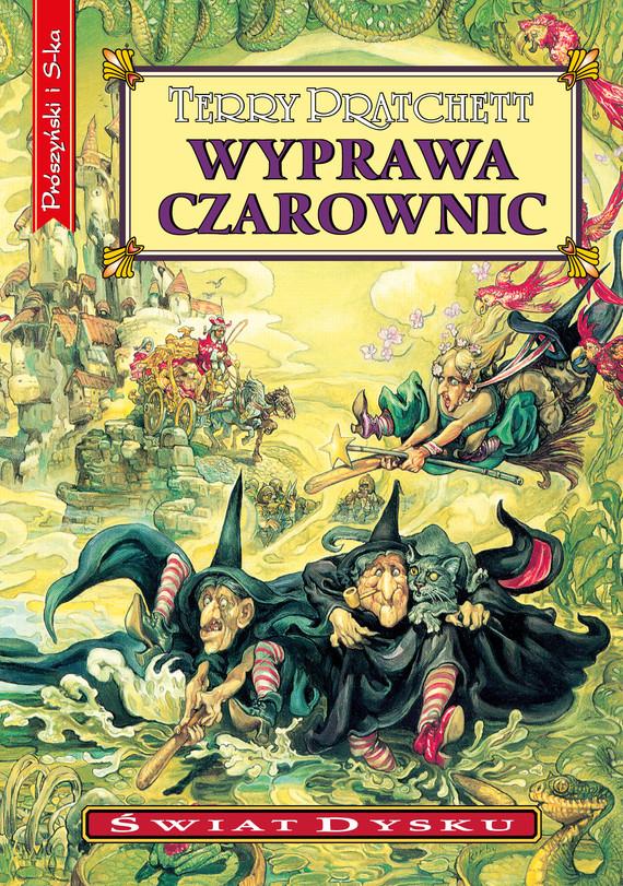 okładka Wyprawa czarownicebook   epub, mobi   Terry Pratchett