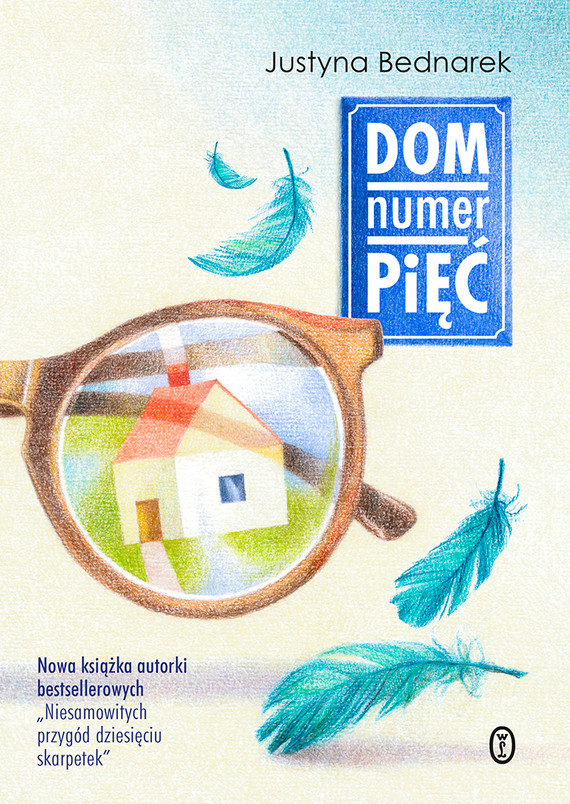 okładka Dom numer pięćebook | epub, mobi | Justyna Bednarek