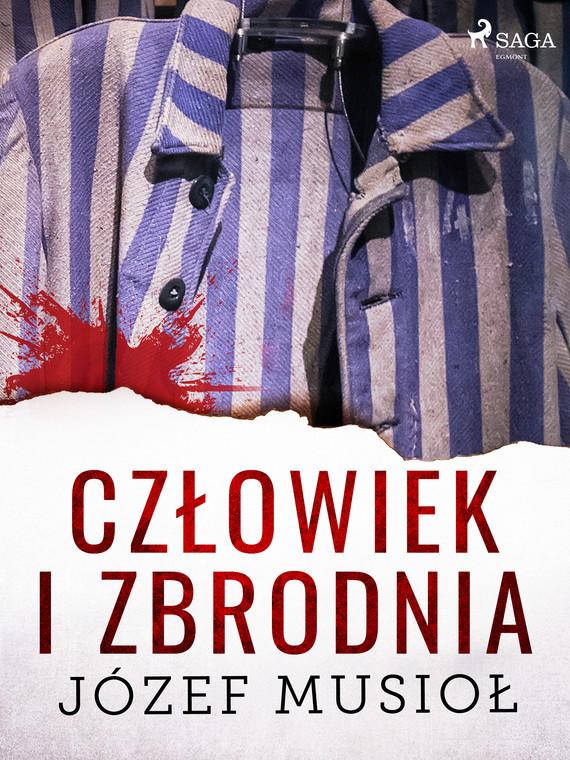 okładka Człowiek i zbrodniaebook | epub, mobi | Józef Musiol