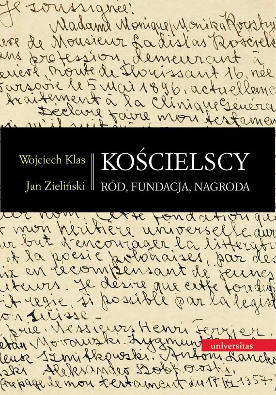 okładka Kościelscy. Ród, fundacja, nagrodaebook | pdf | Zieliński Jan, Wojciech  Klas