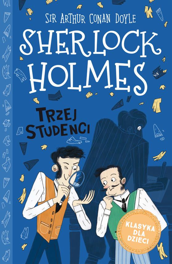 okładka Klasyka dla dzieci. Sherlock Holmes. Tom 10. Trzej studenciebook | epub, mobi | Arthur Conan Doyle