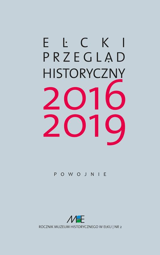 okładka Ełcki Przegląd Historyczny nr 2/2016-2019ebook | pdf | Praca zbiorowa