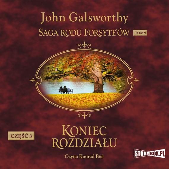 okładka Saga rodu Forsyte'ów. Tom 9audiobook | MP3 | John Galsworthy