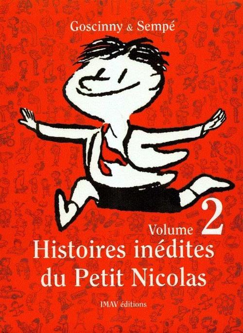 okładka Histoires inedites du Petit Nicolas 2książka      René Goscinny, Jean Jacques Sempe