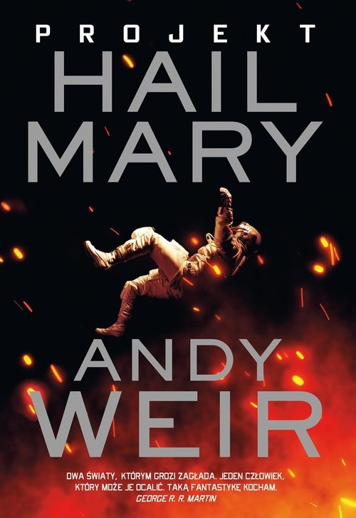 okładka Projekt Hail Maryksiążka      Andy Weir