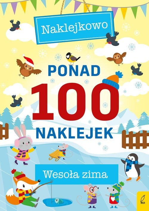 okładka Ponad 100 naklejek Wesoła zimaksiążka |  |