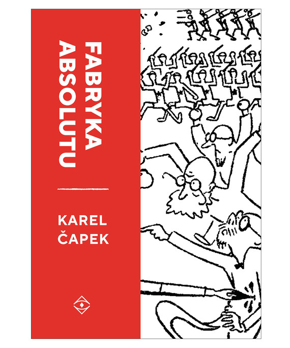 okładka Fabryka Absoutu - Wydanie Ilustrowaneebook   epub, mobi   Karel Čapek