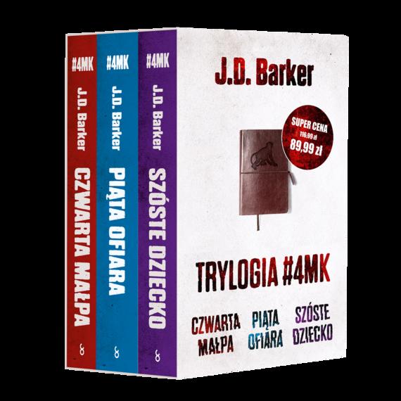 okładka Pakiet J.D. Barker (Czwarta małpa, Piąta ofiara, Szóste dziecko)ebook | epub, mobi | J. D. Barker