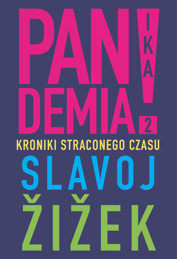okładka Pandemia 2ebook | epub, mobi | Slavoj Żiżek